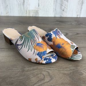 Kelly & Katie | Amour Floral Heel Sandals Size 8